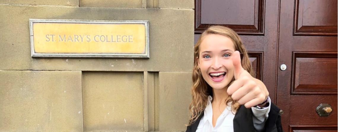 Charlotte Frazer 18/19 Scholar