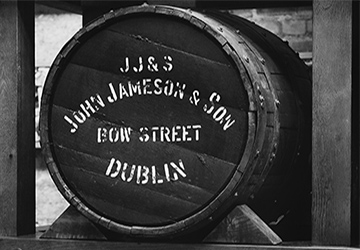 Jamesons whisky barrell