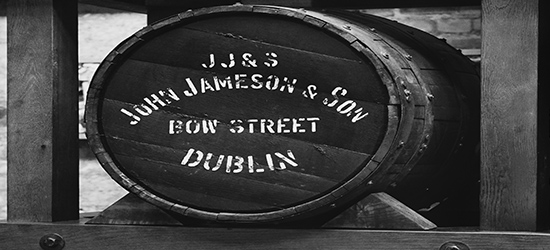 Jamesons whisky barrell